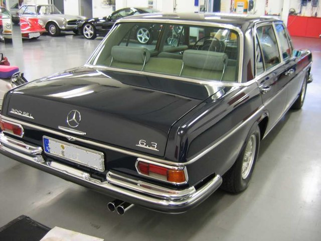 Mercedes Benz 300 Sel 6 3 1968 Die Garage For Sale 4