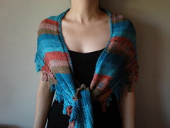 Presence - Red Sea ... Knitted/Crocheted Shawl/Scarf