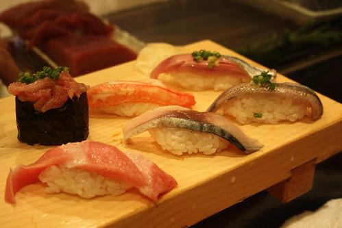 sushi, what else?
