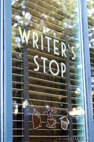 Writer's Stop by DM Rosner