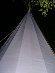 Katya's photo of Tipi by Night