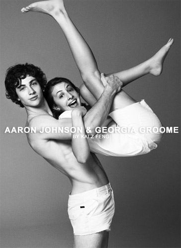 aaron johnson and georgia groome relationship memes