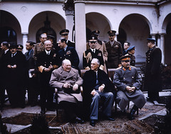 The Big Three at Yalta by The National Archives UK