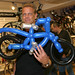 Specialized MD Richard Hemington with bike balloon sculpture
