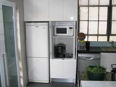 furniture(0.0), kitchen appliance(1.0), kitchen(1.0), room(1.0), property(1.0), refrigerator(1.0), interior design(1.0), cabinetry(1.0),