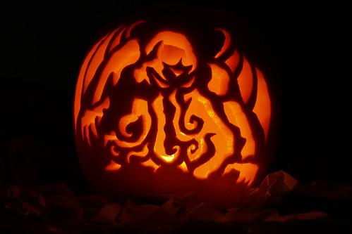 Cthulhu Pumpkin
