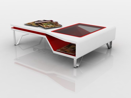 White And Red Coffee Table 15 Flickr Photo Sharing