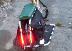 Rear running lights