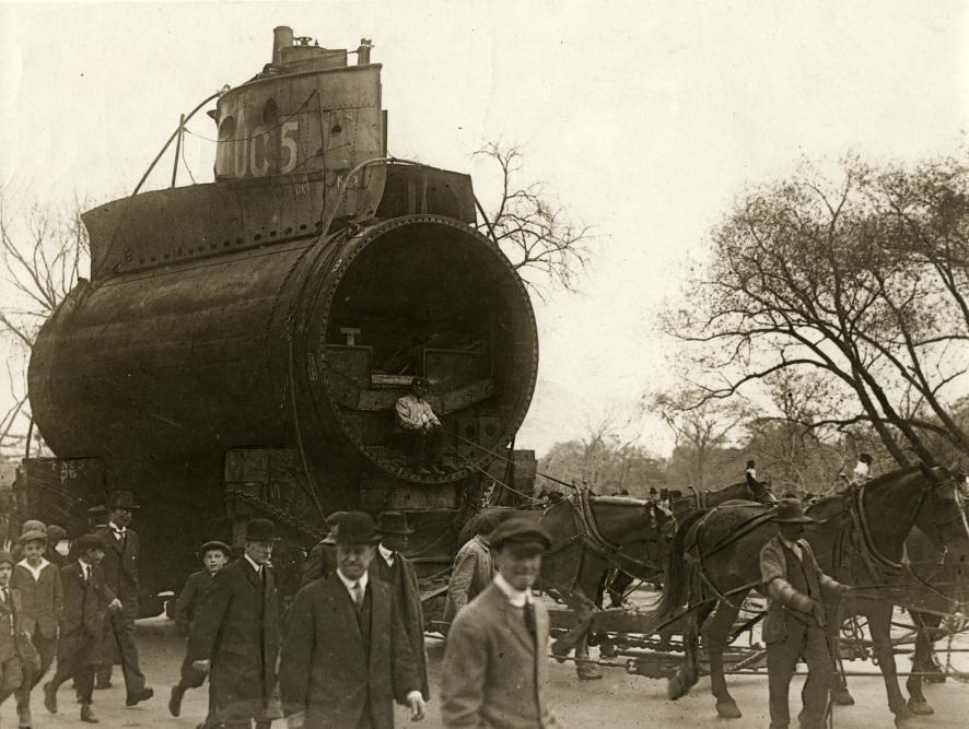Eerste Wereldoorlog, onderzeeër