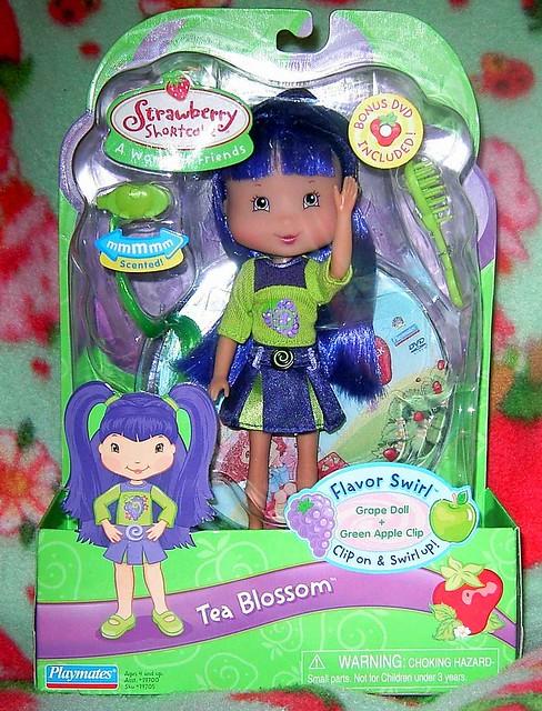 Flickriver: Photoset 'Strawberry Shortcake Playmates dolls ...