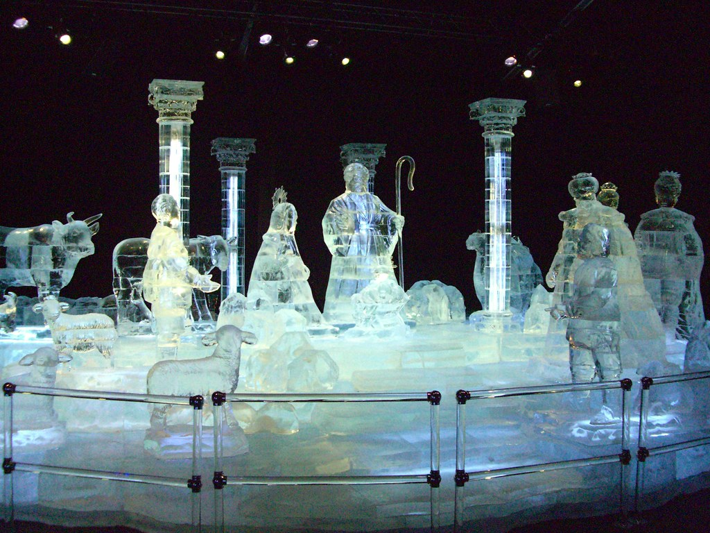 ICE! exhibit at the Gaylord Texan Resort