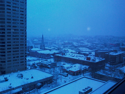Seattle in Snow