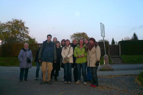 MySpace Wandergruppe in Berkersheim. Oktober 2008