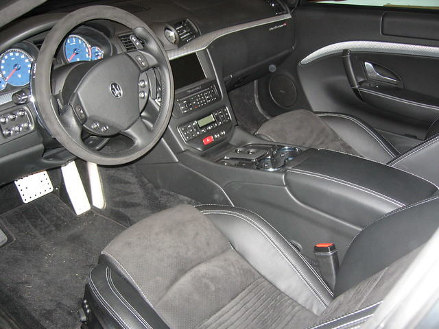 Maserati granturismo s interior flickr photo sharing - Maserati granturismo red interior ...