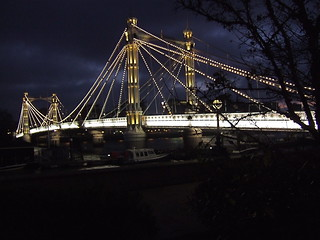 Prince Albert Bridge in London