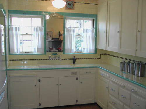 Genial Cute 1930s Kitchen