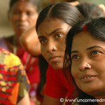 Women Listening Carefully, Microfinance - West Bengal, India