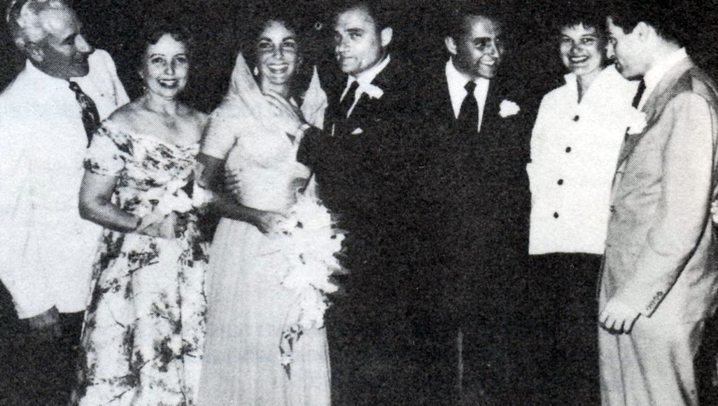 Elizabeth Taylor and Mike Todd's Wedding, 1957