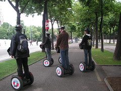 motorcycle(0.0), vehicle(1.0), segway(1.0), land vehicle(1.0),