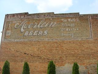 Ghost Sign---Moerlein Beers (Tuscaloosa, Al.)