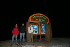 Arctic Circle on the Dempster