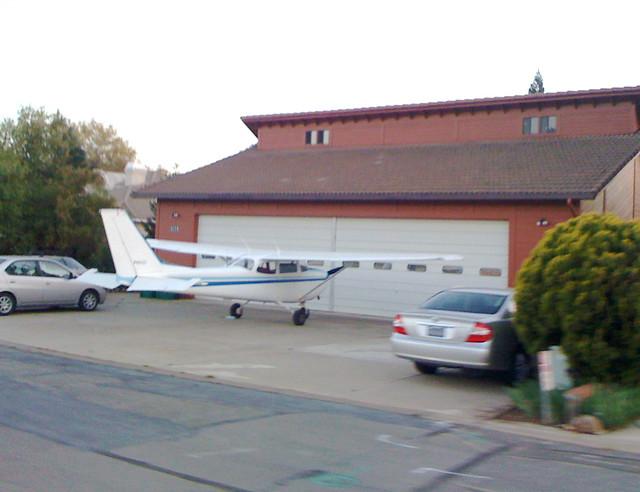 2-car, 1 Plane Garage