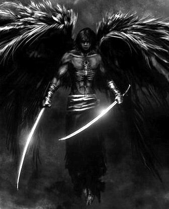 Male dark angel | I find this picture very dark and ...