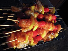 meat(0.0), meal(1.0), roasting(1.0), grilling(1.0), street food(1.0), brochette(1.0), produce(1.0), food(1.0), dish(1.0), pincho(1.0), yakitori(1.0), kebab(1.0), cuisine(1.0), cooking(1.0), skewer(1.0), grilled food(1.0),