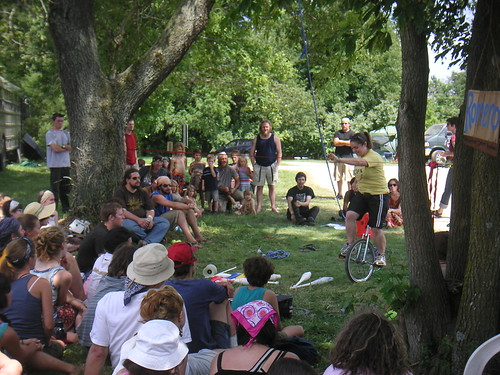 Unicycle demonstration