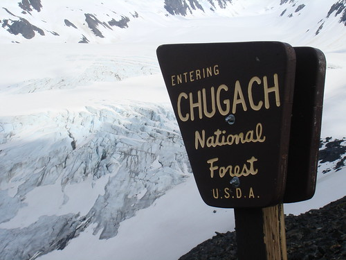Chugach National Forest / Some Glacier just hanging out