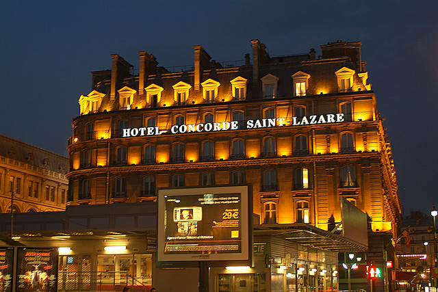 Hotel Concorde Saint Lazare My Hotel During A Recent
