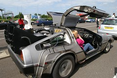 """Back to the Future"" DeLorean"