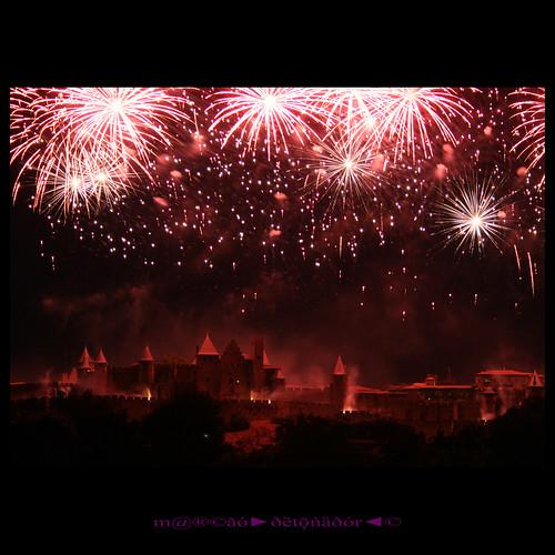 france nightshot carcassonne 14juillet languedocroussillon canonefs1855mmf3556 canoneos400ddigital m®©ãǿ►ðȅtǭǹȁðǿr◄© marcovianna carcassonne14juillet