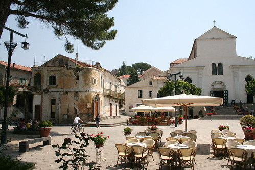 Town square of Ravello