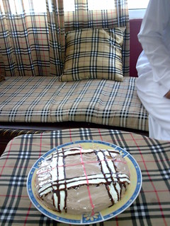 LOL burberry cake