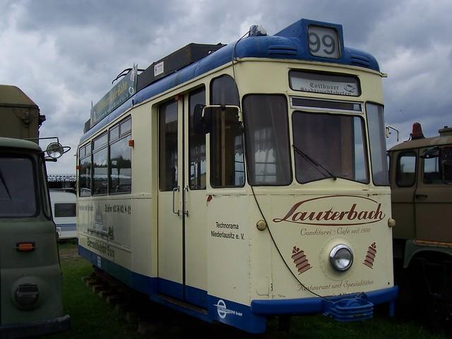 Alte Cottbuser Straßenbahn