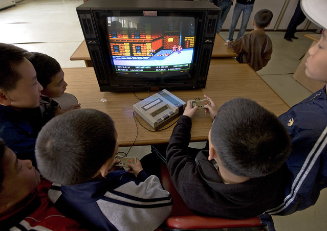 Billy Vs Jimmy , video games - Songdowon International Children's Union Camp in Wonsan - North Korea