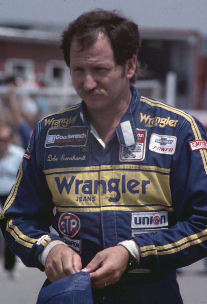 Dale Earnhardt 1985 Pocono Photo By Ted Van Pelt