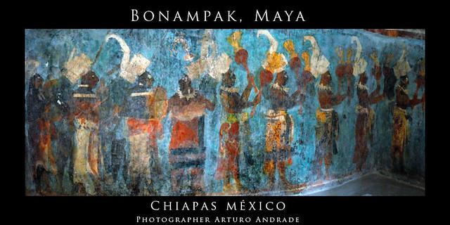Bonampak mural chiapas m xico flickr photo sharing for Bonampak cuarto 2