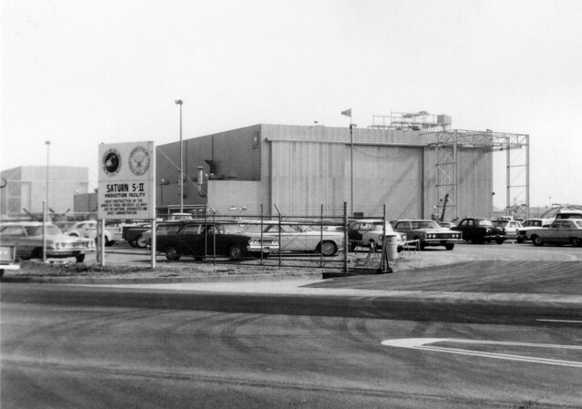 Saturn II rocket production facility, Seal Beach Blvd, Seal Beach, 1965