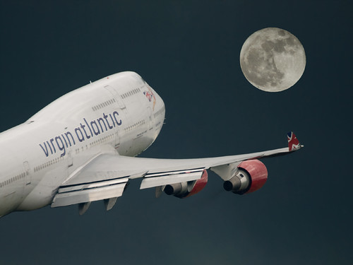 (Virgin) Fly me to the moon