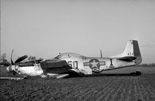 P 51 Crash f6.3 100th sec. 1530hrs GMT 01