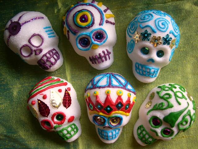 Sugar Skulls Decorated Flickr Photo Sharing