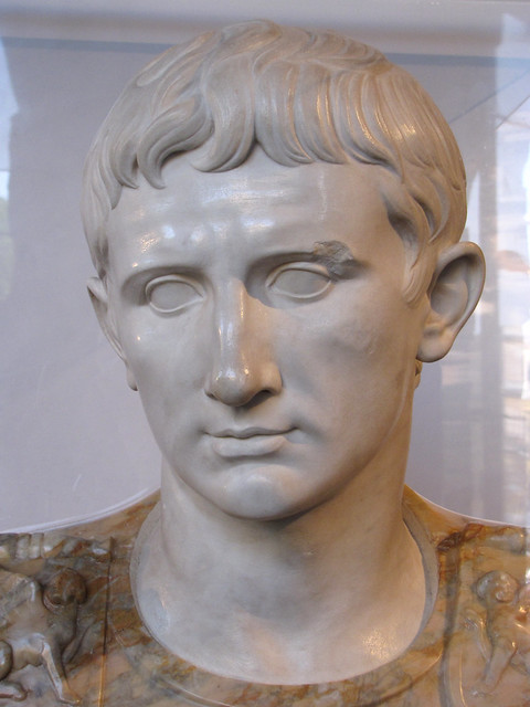 description of the statue augustus of primaport Augustus of prima porta, statue of the emperor augustus in museo chiaramonti, vatican, rome license based on wikipedia content that has been reviewed, edited, and republished.