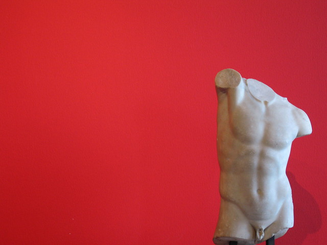 Archaic Torso on Red