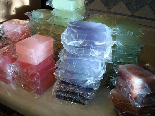 Soap Wrapping!