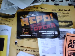 Repo Promoting in downtown Berkeley | by shellEProductions