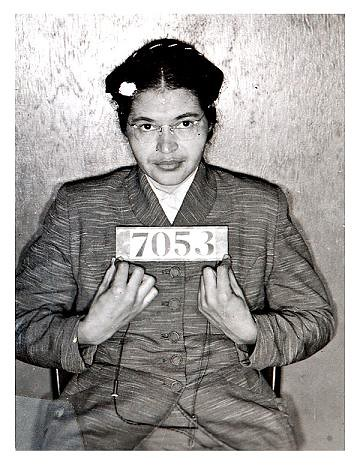 Rosa Parks by cheeseslave