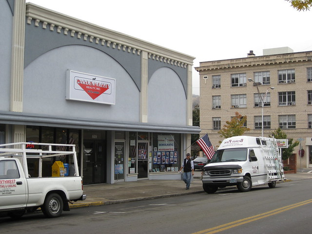 Democratic Headquarters Downtown Roseburg Oregon