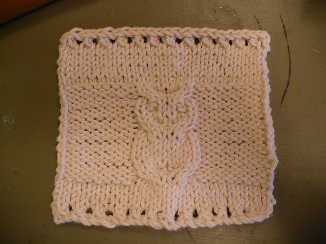 Owl-y dishcloth Flickr - Photo Sharing!